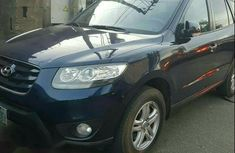 Hyundai Santa Fe 2012 Blue for sale