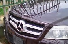 Neatly Used Mercedes Benz GLK 350 2010 Purple For Sale....