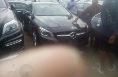 Mercedes-Benz CLA 250 2015 Black for sale