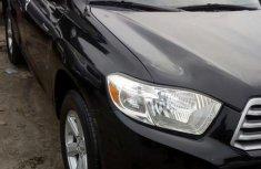 Toyota Highlander 2009 Black for sale