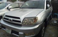 Neat Nigeria Use Toyota 4runner 2005 Silver
