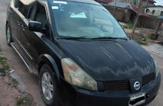 A Sharp Clean Firatbody Nissan Quest 2006 Black For Sales