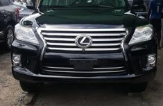 Lexus LX 2017 Petrol Automatic Black for sale