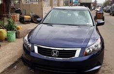 Super Clean Foreign Used Honda Accord 2008 Blue