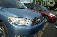 Toyota Highlander 2009 Blue for sale
