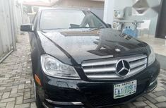 Registered Mercedes Benz C350 4MATIC 2012 Black