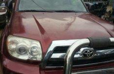 Nigerian Used Toyota 4-Runner 2006 Red