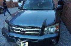 Toyota Highlander Limited 2006 Blue