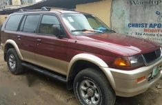 Mitsubishi Montero 1998 Red for sale