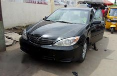 Tokunbo Toyota Camry LE 2004 Black For Sale