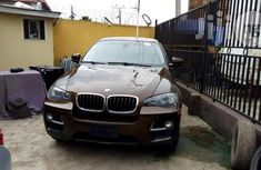 Clean Tokunbo BMW X6 3.5 Xdrive 2014 Brown For Sale