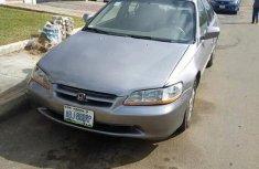 Clean Nigerian Used Honda Accord 1998 Gray