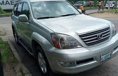 Lexus Gx470 2006 Silver for sale