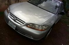 Clean Honda Accord 2002 Silver for sale