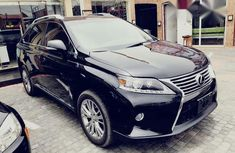 Lexus RX350 2014 Black for sale