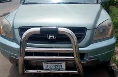 Neatly Used Honda Pilot 2004 Green