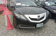 Affordable Acura ZDX 2010 Black for sale