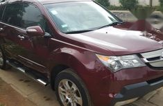 Neat Acura MDX 2008 Red for sale