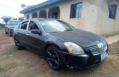 Nissan Maxima 2005 Black for sale