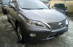 Lexus Rx 350 2014 Gray for sale