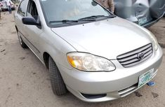 3mnth Used Toyota Corolla LE 2003 Silver