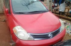 Tokunbo Nissan Versa 2010 Red For Sale