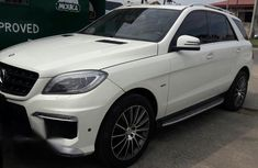 Mercedes Benz ML 350 2011 Upgraded To 2015 White