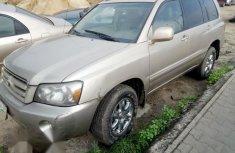 Nigeria Used Toyota Highlander 2005 Gold