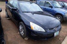 Clean Honda Accord 2003 Black