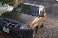 Clean Honda CR-V 2003 Brown