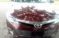 Toyota Avalon 2013 Red for sale