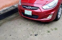 Hyundai Accent 2012 Red for sale