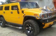 Very Clean Hummer H2 2007 Yellow