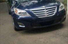 Hyundai Genesis 2012 Blue