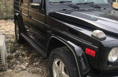Mercedes Benz G500 2005 Black for sale