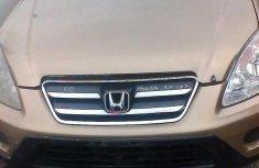 Honda Crv 2005 Gold for sale