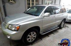 Used Toyota Highlander 2004 Gold for sale