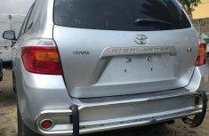 Used Toyota Highlander 2009 Silver For Sale