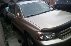 Toyota Highlander Limited 2006 Gold