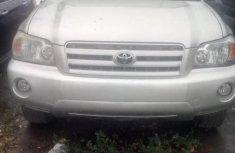 Toyota Highlander 2006 Petrol Automatic Grey/Silver