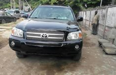 Toyota Highlander 2007 Petrol Automatic Black