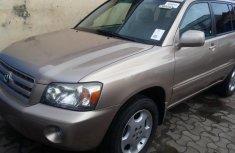 Toyota Highlander 2006 Petrol Automatic Gold