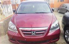 Honda Odyssey 2005 Petrol Automatic Red
