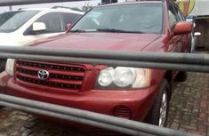 Toyota Highlander 2002 Petrol Automatic Red