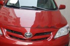 Toyota Corolla 2013 Petrol Automatic Red