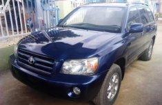 Toyota Highlander 2004 Petrol Automatic Blue