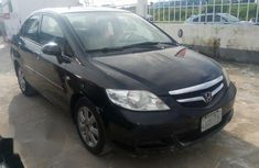 Clean Honda City 2007 Black For Sale