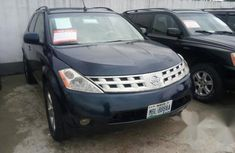 Nissan Murano 2007 Blue for sale