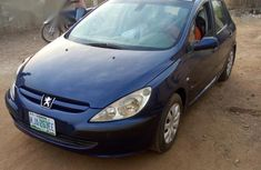 Neat Peugeot 307 2004 Blue for sale