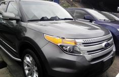 Ford Explorer 2013 Petrol Automatic Grey/Silver